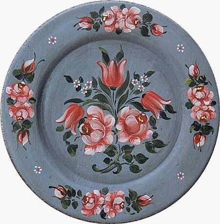 Image from http://www.uniquecustomartgifts.com/rose-plate-mm.JPG.
