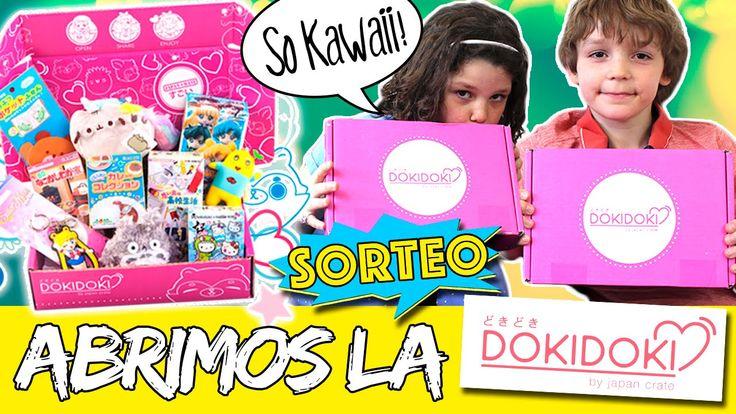 DOKI DOKI BOX unboxing y review * ¡SORTEO de una caja KAWAII Doki Doki!