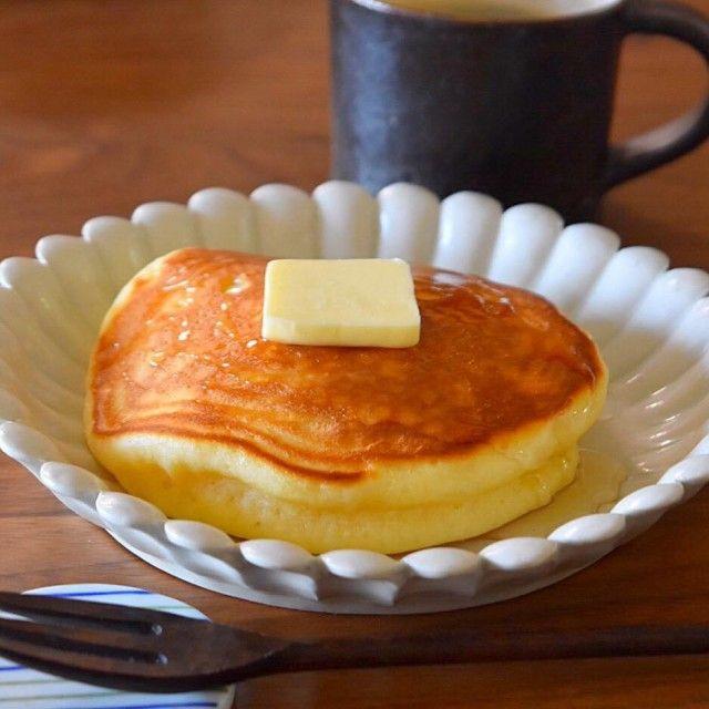 簡単おうちでふわふわホットケーキのつくり方