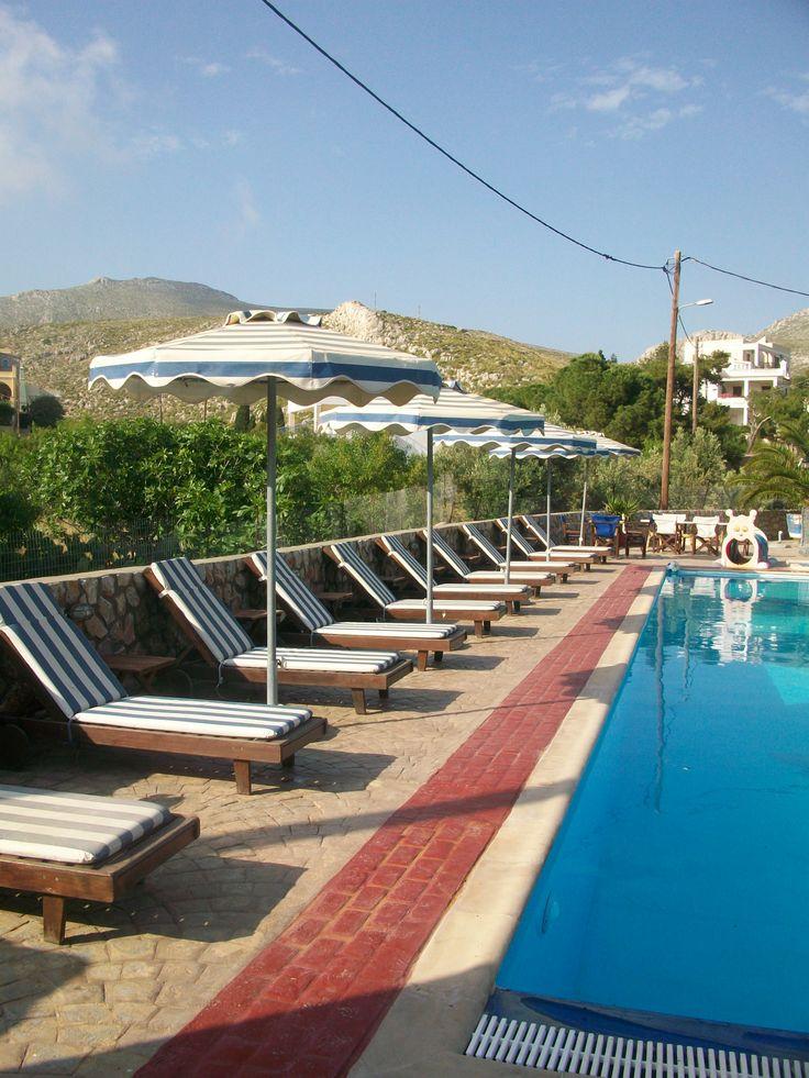 Villa Maria Vlyhadia- Pool area