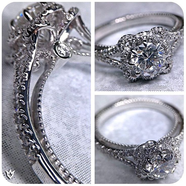 Criss Cross Engagement Ring Setting