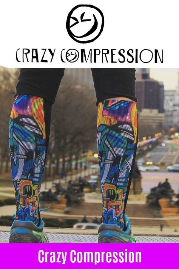 cfc5018da3 What is Crazy Compression?We make graduated compression socks.  #CrazyCompression