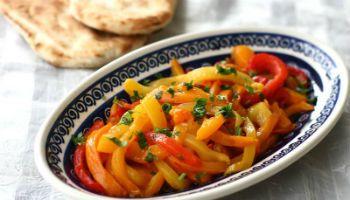 Салат из перца к шашлыку