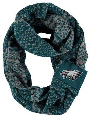 Philadelphia Eagles Reversible Infinity Womens Scarf
