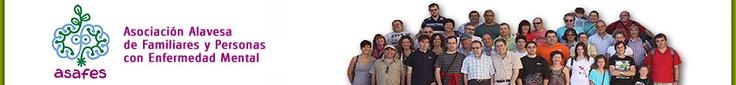Página de la Asociación Alavesa de Familiares y Personas con Enfermedad Mental www.asafes.org
