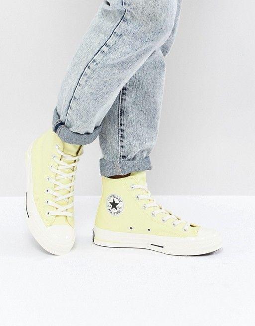 50eba6b5ec7d Converse Chuck Taylor All Star 70 Hi Sneakers In Yellow