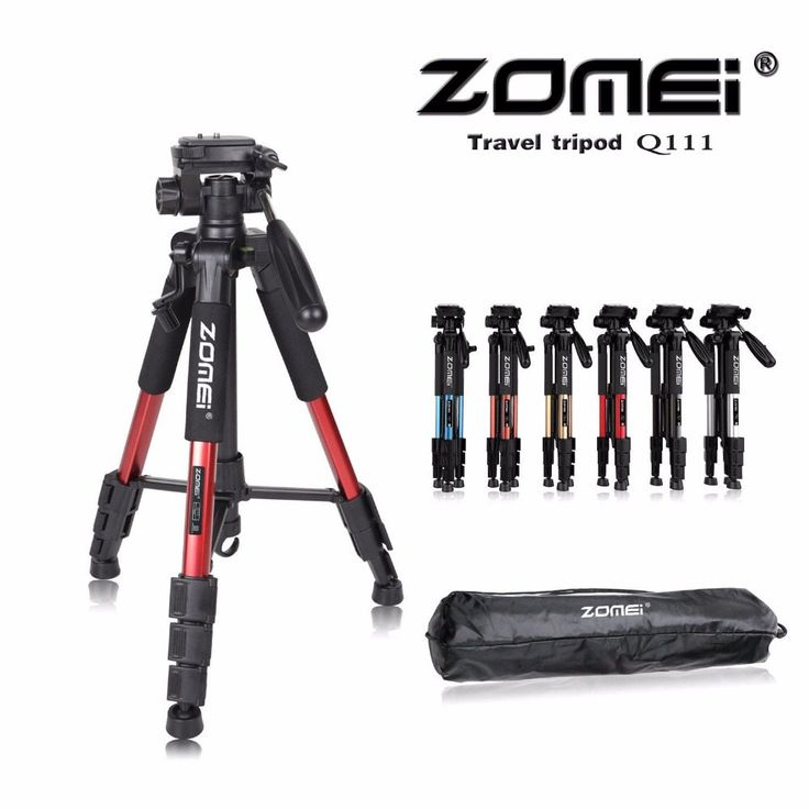 New Zomei Q111 Professional Aluminium Tripod Camera Accessories Stand with Pan Head for Dslr //Price: $41.99//     #storecharger