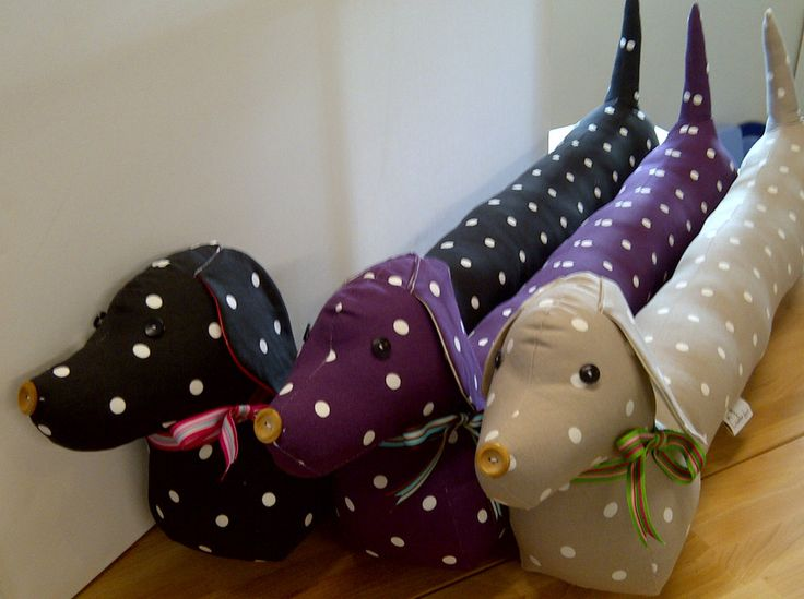 Beautiful !!! #Sausage Dog #Draft Excluder @DollyandTeddy £23.60