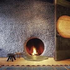 my river rock fireplace - Google Search