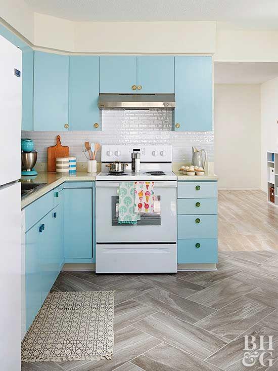 316 besten Colorful Cabinets Bilder auf Pinterest | Küchen ...