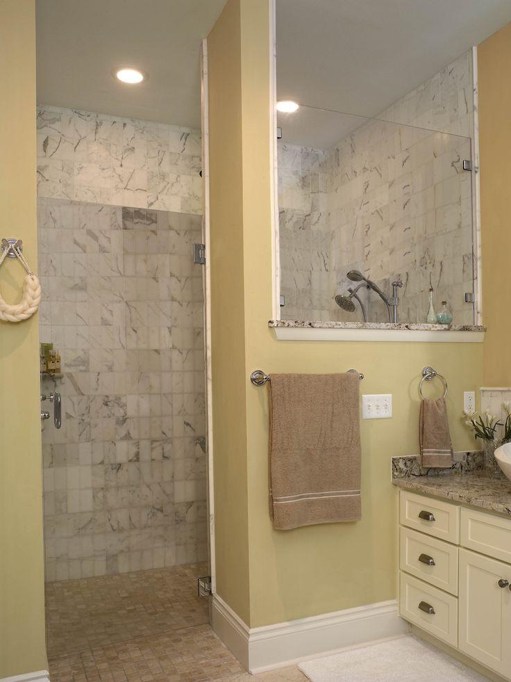 Best 25 walk in shower designs ideas on pinterest - Walk in showers for small bathrooms ...