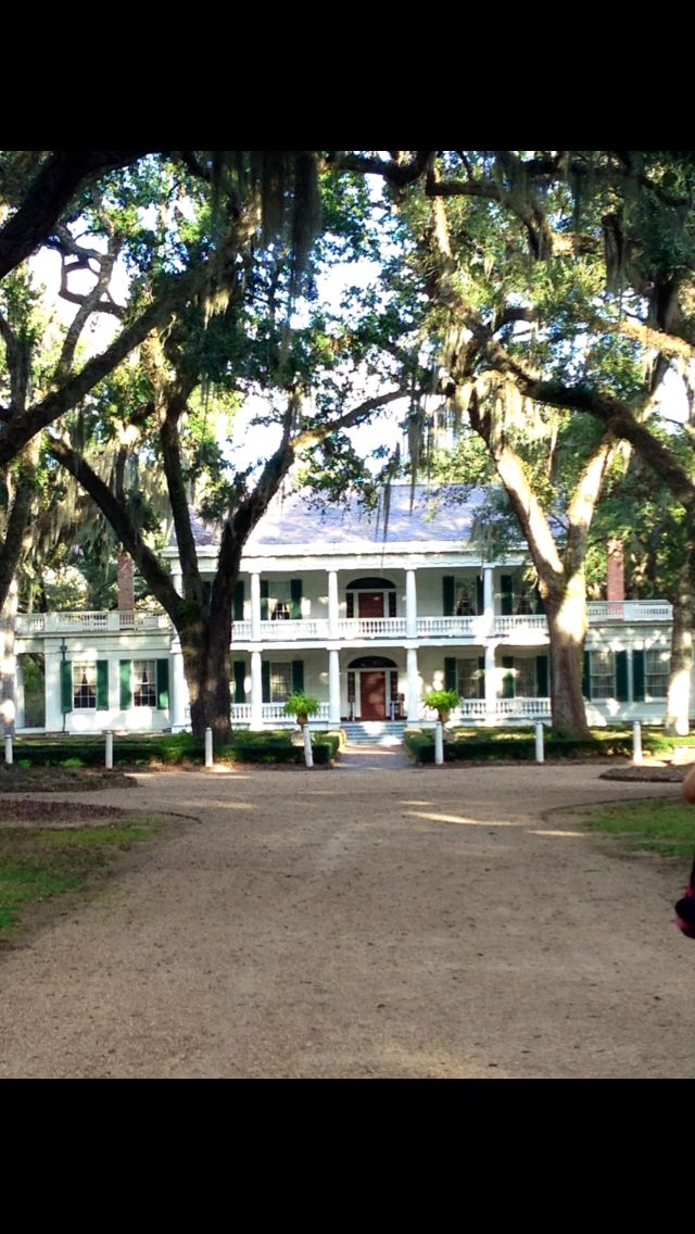 Rosedown Plantation in St. Francisville, LA. One of the most fascinating items in the home is a tapestry handmade by Martha Washington. The home & grounds are absolutely gorgeous!