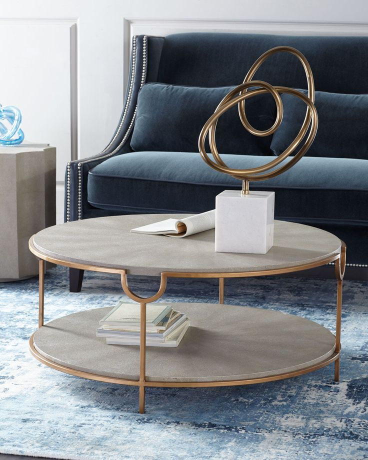 Regina andrew design chaz tiered coffee table for Coffee tables regina