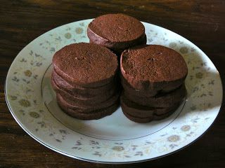 Slice and Bake Chocolate-Wafer Cookies. | baking | Pinterest