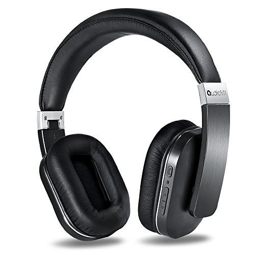Special Offers - AudioMX Wireless Bluetooth 4.0 On-Ear Headphones Passive Noise Cancelling Headset with Built-In Microphone 20-Hour Playing Time Black - In stock & Free Shipping. You can save more money! Check It (May 02 2016 at 06:43AM) >> http://wheadphones.com/audiomx-wireless-bluetooth-4-0-on-ear-headphones-passive-noise-cancelling-headset-with-built-in-microphone-20-hour-playing-time-black/