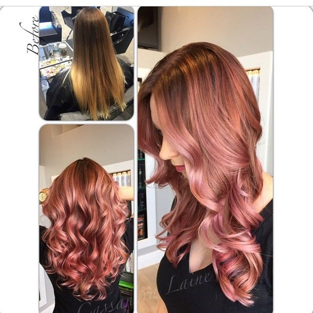 absolutely gorgeous! @cassandraplatinum: A revisit to one of my absolute favorite colors on one of my absolute favorite people @aperky  In preparation we deepened her base to a 6 and prelightened the ends to 8's/9's and 10's.  I then used 7rv9v clear with 10 vol and 7rv7r 5 vol and randomly handpainted the 2 Paul Mitchell Shines XG formulas throughout xoxo #hotonbeauty @hotonbeauty Hot Beauty Magazine