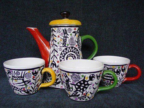 malování keramiky - Maříž