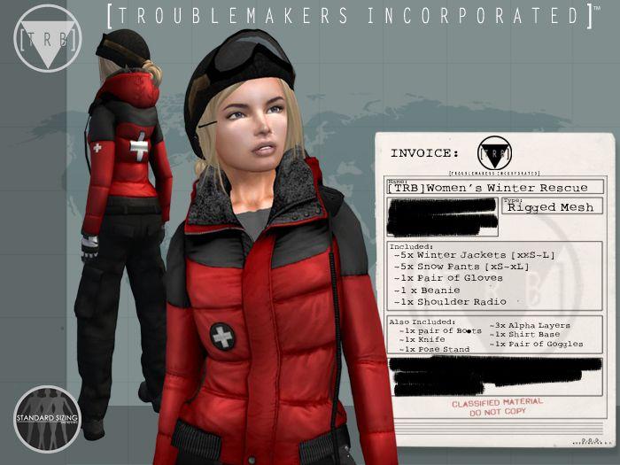 [TRB] Women's Winter Rescue