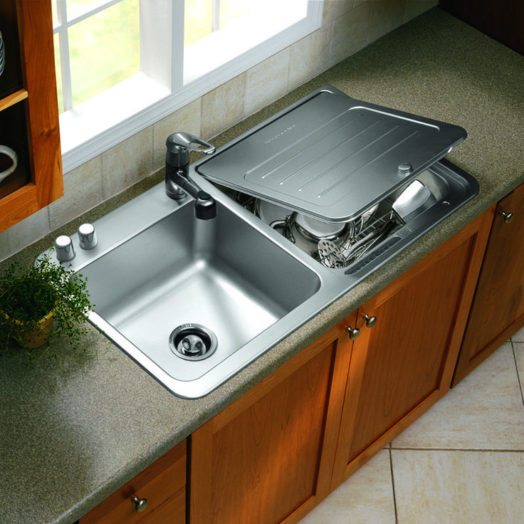 The Ideal Kitchen Under Sink Drawers: Briva®, KitchenAid Brand's Breakthrough In-sink Dishwasher