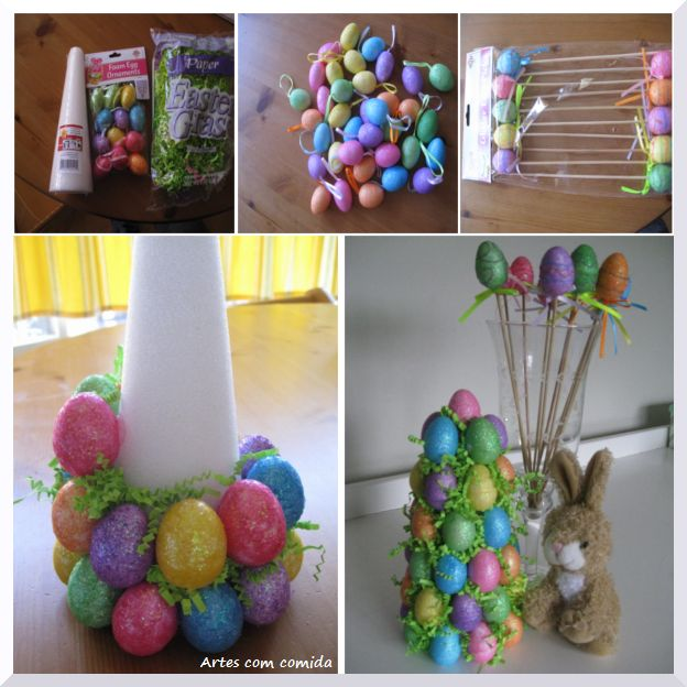 How to make a easter tree easter festivity How to make an easter egg tree