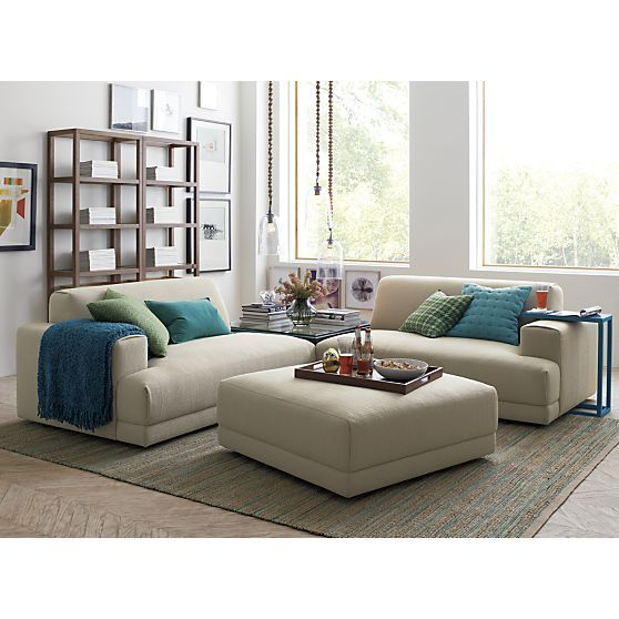 Jarvis teal rug crate and barrel living rooms pinterest crate and barrel barrels and crates for Crate and barrel living room