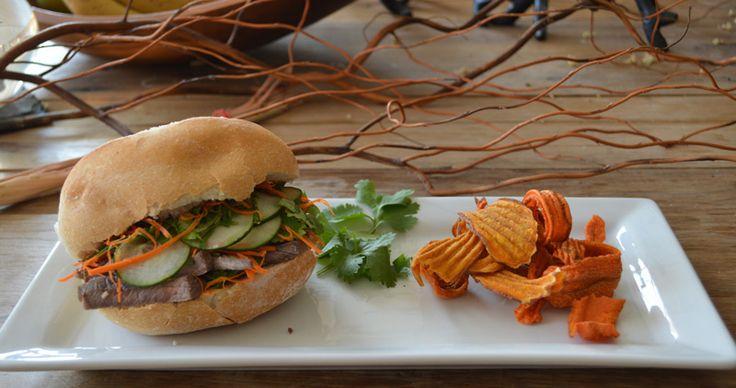"""... 163–""""Make Sure to Get My Good Side"""" Vietnamese Steak Banh Mi"""