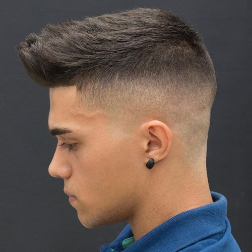 Skin Temp Fade + Line Up + Short Textured Hair http://www.99wtf.net/men/popular-men-hairstyles-2017/