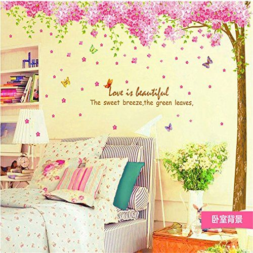 Romantic Large Pink Sakura Flower Cherry Blossom Tree Wal... https://www.amazon.co.uk/dp/B01DHM4ZGM/ref=cm_sw_r_pi_dp_x_Ov1RybKAB10M8