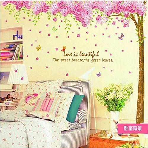 Romantic Large Pink Sakura Flower Cherry Blossom Tree Wal... https://www.amazon.co.uk/dp/B01DHM4ZGM/ref=cm_sw_r_pi_dp_x_Ov1RybKAB10M8