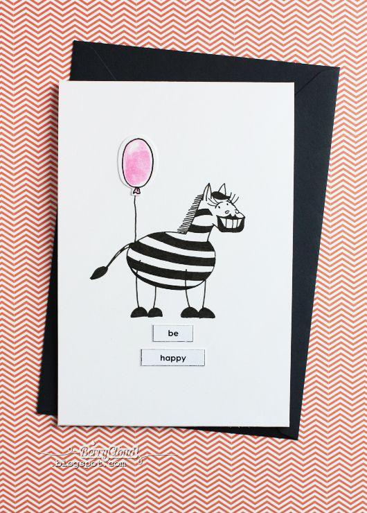 BerryCloud. Creo, ergo sum: Be happy / Card