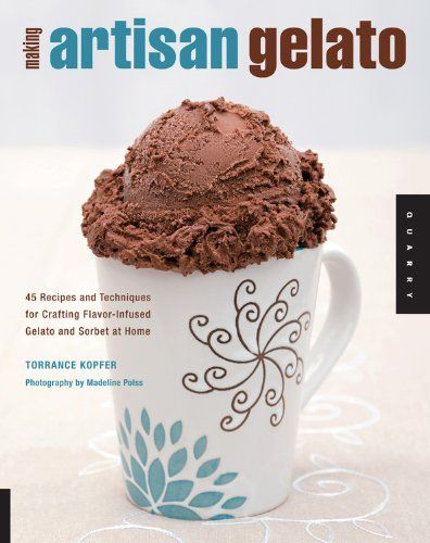 Making Artisan Gelato: 45 Recipes and Techniques for Crafting Flavor-infused Gelato and Sorbet at Home by Torrence Kopfer http://www.amazon.co.uk/dp/159253418X/ref=cm_sw_r_pi_dp_1vhDub1BQMWAG