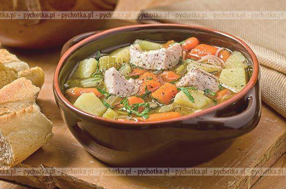 Zupa jarzynowa z wołowiną