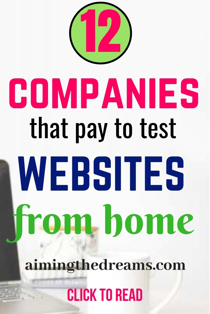 12 best companies pay money to test websites from home – Household bills