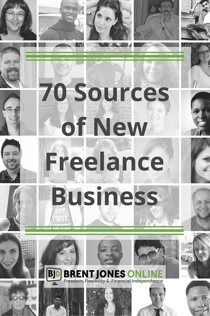 70 Freelancers Reveal Their Best Source of New Business: 70 freelancers, who earned an estimated combined total of $2.85 million in 2015, reveal their best sources of new business in one epic expert roundup post.