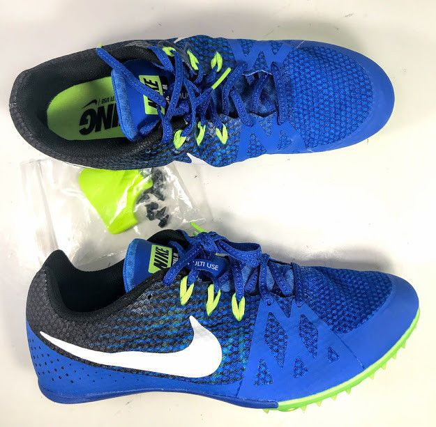 cd4ea71e25a Nike Mens Zoom RIVAL M8 Shoes Spikes Track Nike Racing Size 8.5 NEW  806555-413