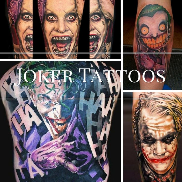 17 Best images about Joker Tattoo on Pinterest | The o ...