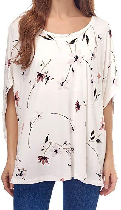 3b8483efef235 Smallshow Women's Nursing Top Modal Maternity Poncho for Breastfeeding  SVP033 at Amazon Women's Clothing store: | Amazon wants | Pinterest | Amazon,  ...