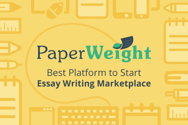 Paperweight a Way to Start Writing Platform