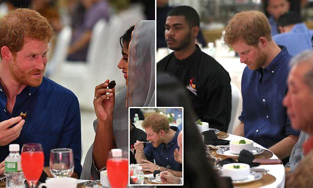 Harry celebrates breaking of the fast during Ramadan in Singapore -   Prince Harry ate a simple dish of dates and porridge with a Muslim community breaking its Ramadan fast during his tour of Singapore on Sunday.   Har... See more at https://www.icetrend.com/harry-celebrates-breaking-of-the-fast-during-ramadan-in-singapore/