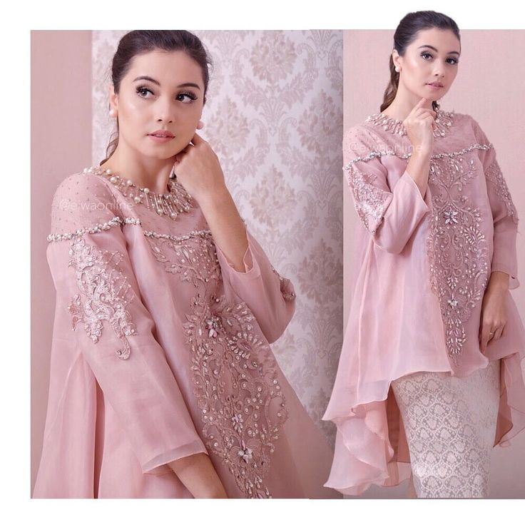 "1,632 Likes, 70 Comments - EIWA - kebaya bajubodo brokat (@eiwaonline) on Instagram: ""⛔️SOLD OUT⛔️ TOP0757 (Dusty Pink) available in Mint,Black and Maroon Bust 86 / 92 / 96 / 100 / 106…"""