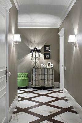 Фото дизайна интерьера : холл/коридор (Квартира) - дизайн, фото, ракурсы, исполнители.