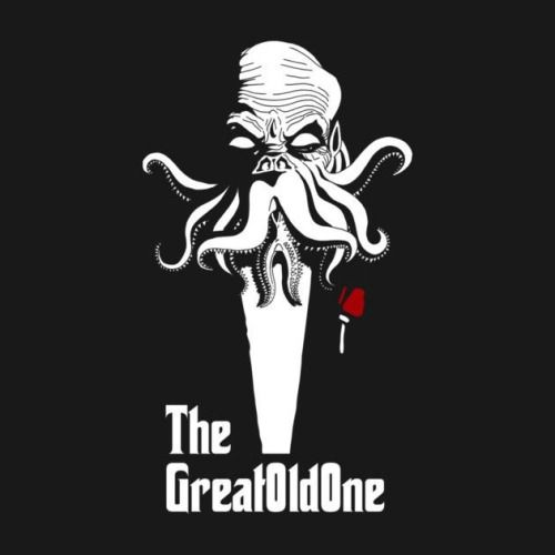 THE GREAT OLD ONE T-Shirt – http://www.theshirtlist.com/the-great-old-one-t-shirt/ – Cthulhu T-Shirt is $14 today at TeePublic!