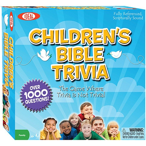 Bible Trivia game - may have to check this out