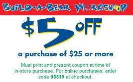 Build a Bear Coupons 2013 | Build A Bear Coupons: Save $8 w/ 2013 Coupon Codes & Promo Codes
