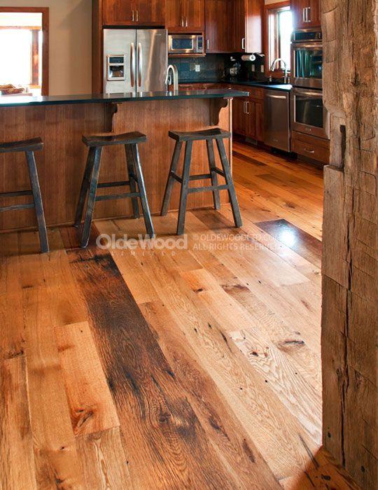 Reclaimed Oak Flooring | Antique Oak Floor | Olde Wood Wide Plank