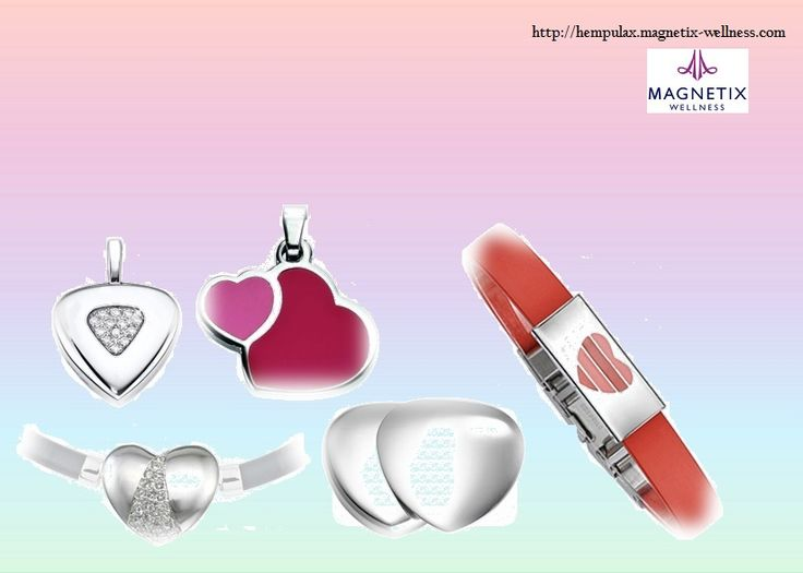 From right edge. Zirconia Heart Pendant in small 42€,  Zirconia Stripe Heart Pendant 37€, Heart Pendant 13€, Stainless Steel Power Heart 42€, Bracelet-Set Heart 16€.  More information of these jewelery you will find from here▶ http://hempulax.magnetix-wellness.com/en/ #children #hobbies #openness #support #love