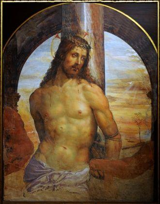 Содома. Христос у колонны. ок. 1514 г. Сиена, Пинакотека.