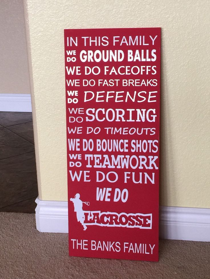 Lacrosse Wood Sign, Customized Coaches Lacrosse Wood Sign by TalsCreations on Etsy https://www.etsy.com/listing/236246554/lacrosse-wood-sign-customized-coaches