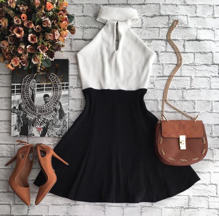 Vestido Maria Cecília R$99,90 {Tamanhos P M e G} | Bolsa R$159,90 Compras on…