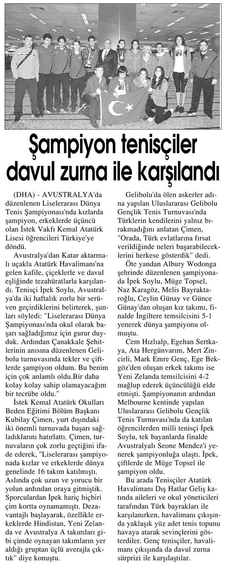 2 Mayıs 2013 / İstanbul Gazetesi